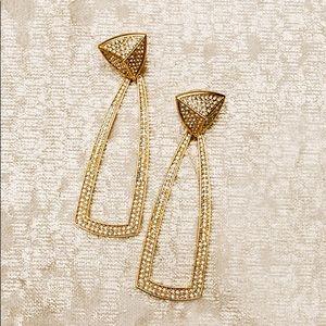 Rachel Zoe House of Harlow 1960 Mesa Earrings.